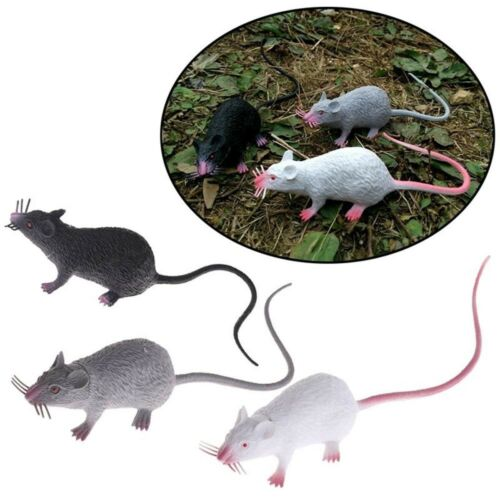 Simulate Mice Tricky Joke Fake Lifelike Mouse Model Prop Toys Party Decor Funny