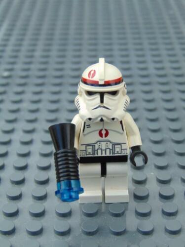 Genuine Lego Star Wars  Recon Clone Trooper  Mini Figure From Set 7250