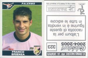 CALCIATORI-PANINI-2004-05-Figurina-sticker-N-323-NEW