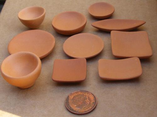 Escala 1:12 estilo único gran Terracota tumdee tazón de cerámica Casa De Muñecas NT10