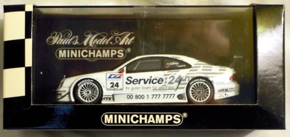 Minichamps 430003724  Mercedes CLK DTM 2000 Team Rosberg,  24 P. Lamy, NEU & OVP
