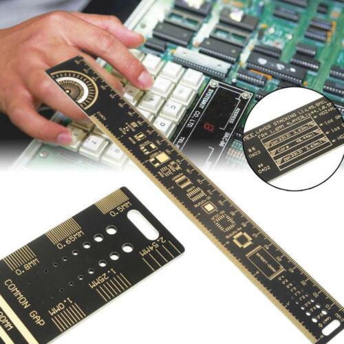 Multifunctional PCB Ruler Measuring Tool 25cm