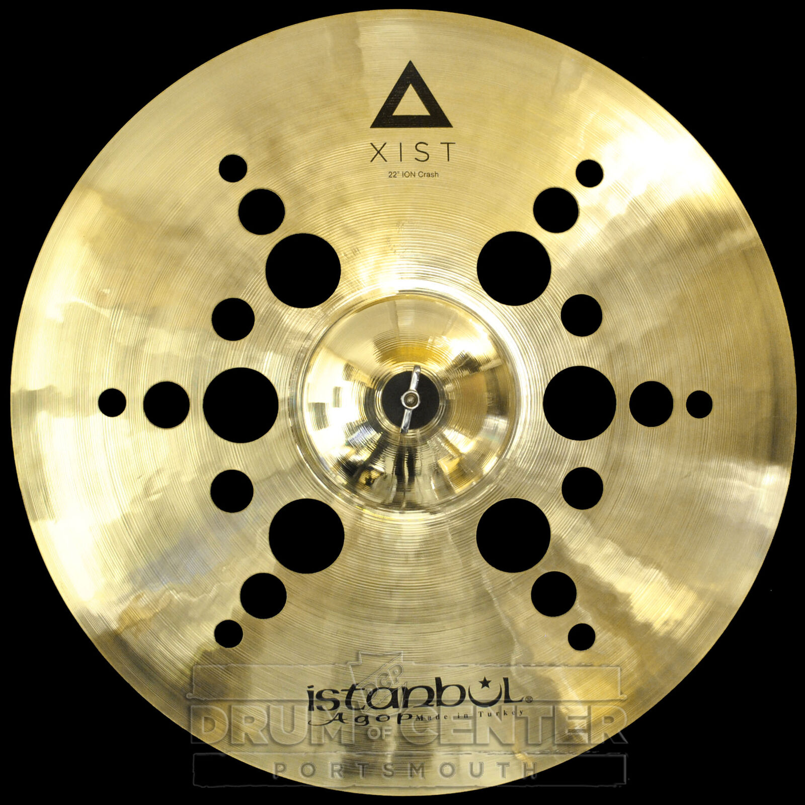 Istanbul Agop Xist Ion Crash Cymbal 22
