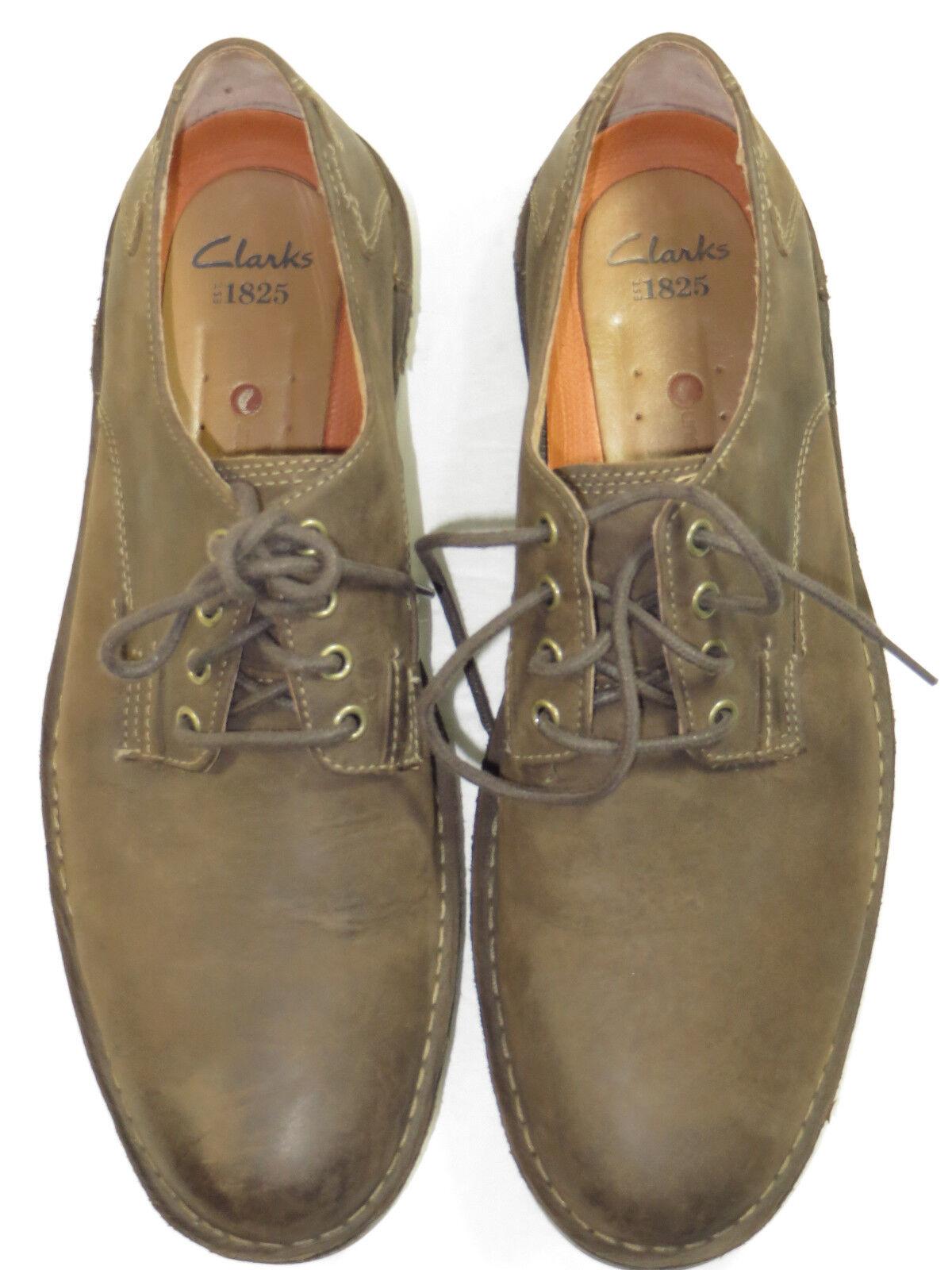 Rare beauty NWOB Men's Clarks LUGANO Oxfords Work walk shoes Size 12 M