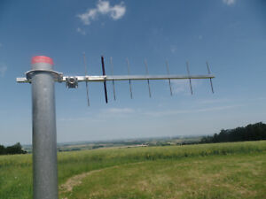 8-Element-1-3-GHz-23cm-Yagi-Antenne-Richtantenne-ATV-Amateurfunkantenne-N-Buchse