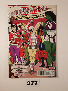Gwenpool-Holiday-Special-1-Unbelievable-VF-1st-Print-Marvel-Hastings