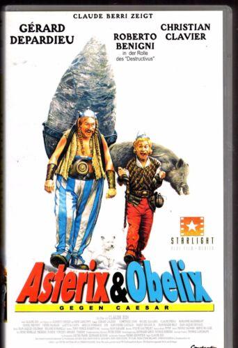 1 von 1 - Asterix & Obelix gegen Caesar VHS Kassette  Top erhalten