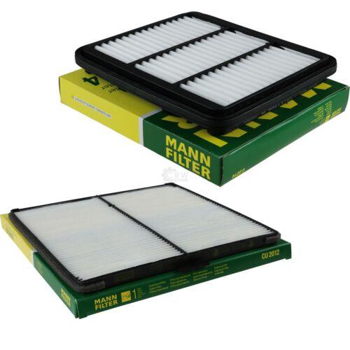 MANN-FILTER PAKET Luftfilter Innenraumfilter Chevrolet Spark Matiz M200 M250 1.0