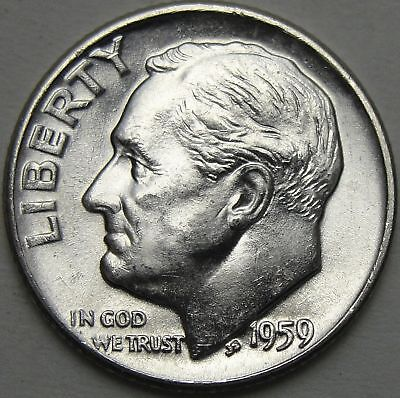 UNCIRCULATED 1953 S ROOSEVELT SILVER DIME FREE SHIPPING Right out ofbank roll