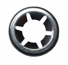 10 x Starlock Edelstahl 6 mm Unterlegscheibe Sicherungsscheibe Achs-Klemmring