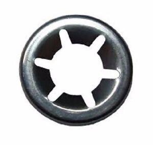 10 X Starlock Acier Inox 3 Mm Disque Rondelle Plate Rondelle Achs-klemmring Vup1ko7i-07233459-964732833