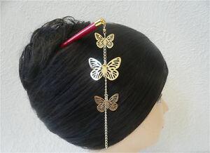Japanese Kumi Hair Stick Kanzashi Gold Tone Quot Cho Cho