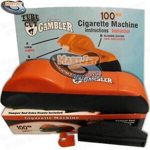 Tube-Cut 100s Tobacco Injector Machine Cigarette Maker Rolling Making Long 100mm