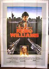Il Mio Nome è Remo Williams manifesto poster Fred Ward avventura  4F A