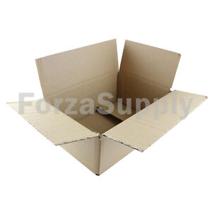 "5 10x7x4 ""EcoSwift"" Brand Cardboard Box Packing Mailing Shipping Corrugated"
