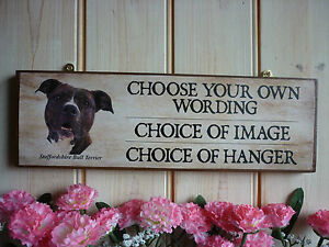 HANDMADE-TO-ORDER-STAFFORDSHIRE-BULL-TERRIER-SIGN-BESPOKE-STAFFY-SIGN-GATE-SIGNS