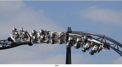 Achterbahn,Rollercoaster,Bild auf Leinwand// 40X80 cm //2901 1S/_Rollercoaster