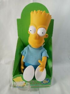 Bart Simpson Dan Dee Doll Figure Vintage 1990 Collectible New in Box