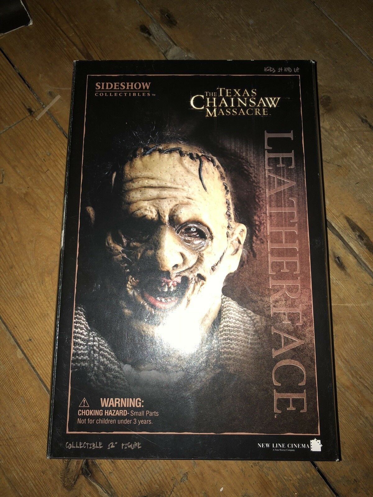 Sideshow Texas Chainsaw Massacre Leatherface Thomas Hewitt exclusivo afssc 125