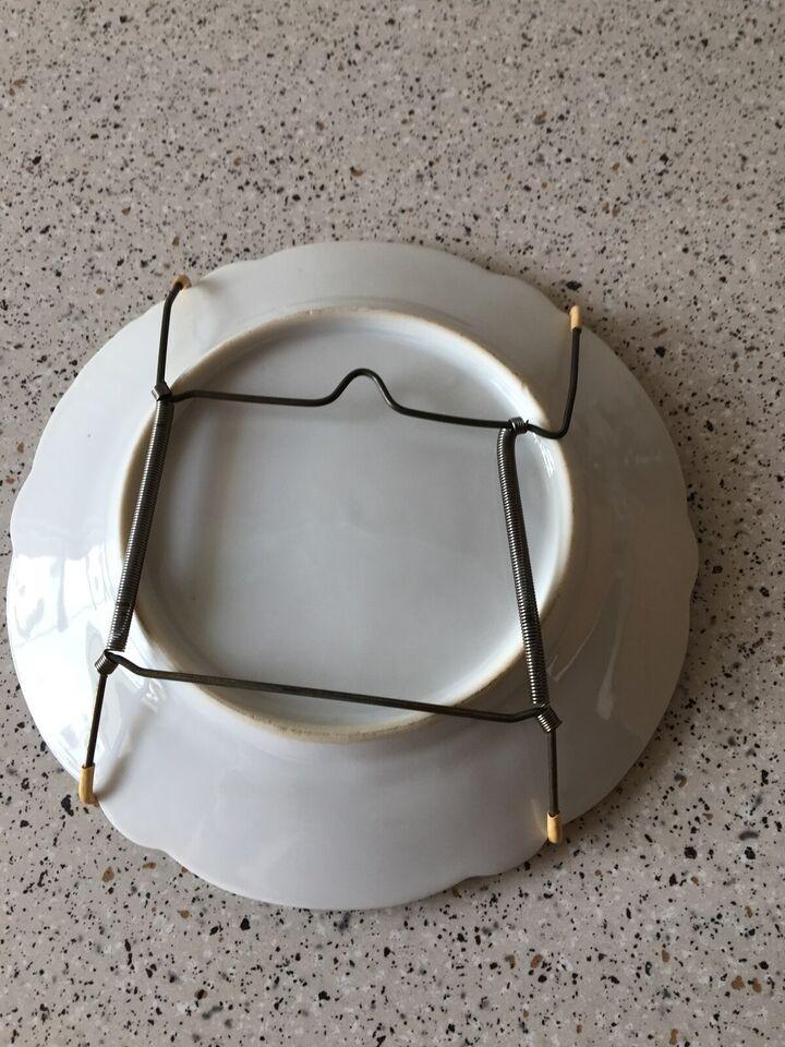 Platter, Fajance