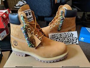 eae08c6eba6 Timberland x Bape x UNDFTD 6 Inch Boots Wheat Nubuck Camo Waterproof ...