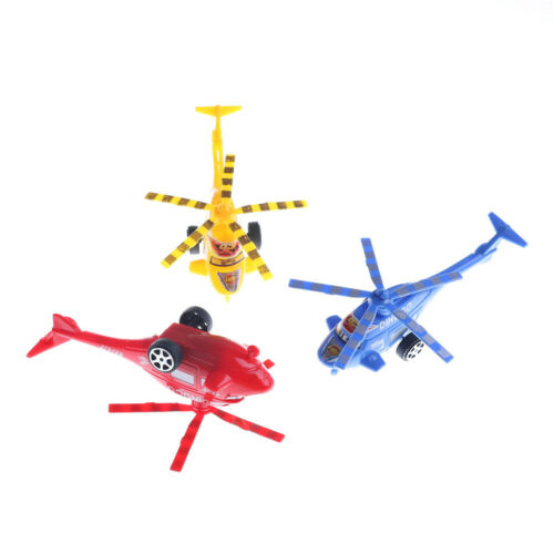 Plastic Air Bus Model Kids Children Pull Line helicopter Mini Plane Toy Gift RS
