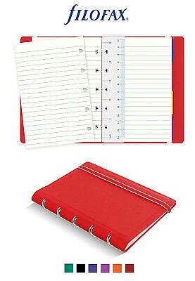 Filofax Notebook A7 Notizblätter Blanko Pocket 32 Blatt Refill Notizbuch 122451