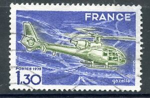 STAMP / TIMBRE FRANCE OBLITERE N° 1805 HELICOPTERE GAZELLE