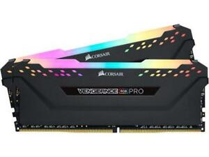 CORSAIR Vengeance RGB Pro 16GB (2 x 8GB) 288-Pin DDR4 DRAM DDR4 3000 (PC4 24000) Desktop Memory Model CMW16GX4M2C3000C15