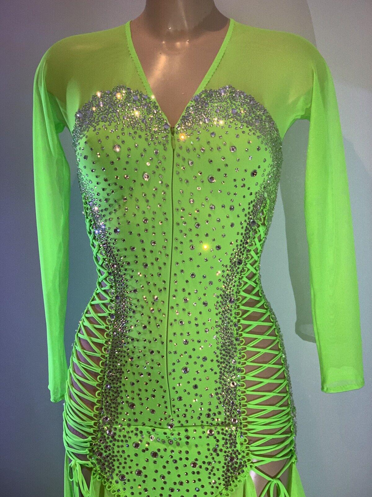 latin dance dress