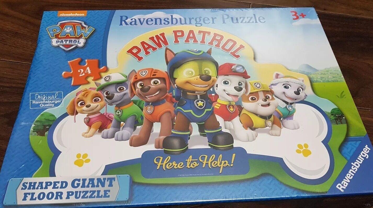 4 PAW PATROL PUZZLE BUNDLE CHASE SKYE MARSHAL ZUMA ROCKY NICKELODEON 48 /& 24PC