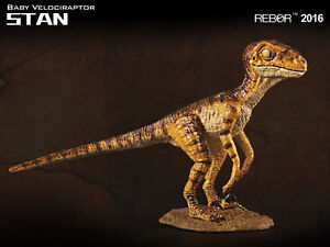 REBOR Scout Series Velociraptor Baby Stan 1:35 scale