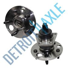 Set of (2) New REAR Complete Wheel Hub and Bearing Assembly for Cavalier w/ ABS