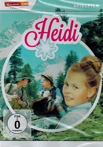Details zu DVD NEU/OVP - Heidi (1965) - Eva Maria Singhammer, Gustav Knuth  & Michaela May