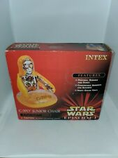 STAR WARS EPS 1 INTEX CHILD/'S BLOW-UP CHAIR CHOICE OF CHARACTER 1999 NEW IN NIB