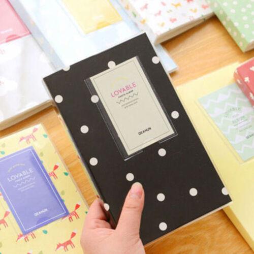 Libro de almacenamiento álbum 84 Bolsillos Para Fujifilm Polaroid Fuji Instax Mini 50s 7 8s 90