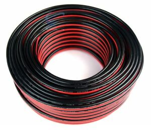 12-Gauge-100-Feet-Red-Black-Stranded-2-Conductor-Speaker-Wire-Cable-Copper-Mix