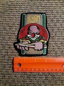 Korn Rock Band Sew or Iron on Patch NEW