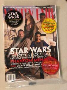 Vanity Fair 1999 Star Wars Special Collector's Edition still sealed