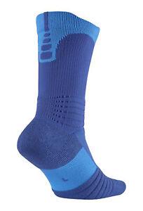 huge selection of a7785 8aea8 Nike Elite Versatility Basketball Crew Socks, Large - Royal Blue