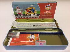 Kinder Joy Back To School Stationery Kit KIds Pencil/Eraser India 2016 Very Rare