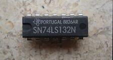 Texas Instruments SN 74LS132 Chip IC DIP-14  Baustein  Neu NOS