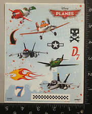 PLANES BY DSNEY, FROM THE MOVIE, ONE SHEET OF BEAUTIFUL STICKERS #GDL839