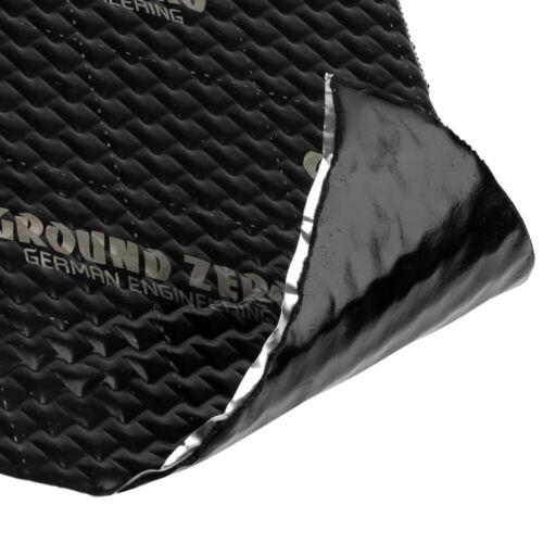 Ground Zero gzdm 3750ab-Silver 2x 1,7mm alubutyl dämmmatte maletero Carhifi aislamiento