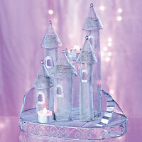 Silver Fairytale Castle Centerpiece Will Create A Magical Fairytale Feel.