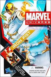 Marvel Universe Series 4 Iron Fist Figure 006 MINT