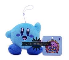 KIRBY BLU PELUCHE portachiavi cellulare pupazzo plush Adventure ghiaccio blue ds