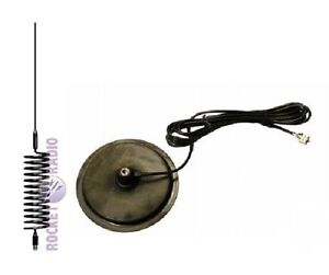 CB-Radio-Aerial-Stinger-1-55m-9-COLOUR-CHOICE-Turbo-Magnetic-Mount