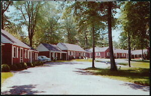 FAIRFAX VA Gateway Motor Lodge Vintage Cottage Motel Old Virginia Postcard