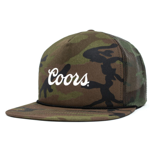 72a8777b6 Brixton X Coors Banquet Co-lab Signature Trucker Hat - Camo for sale ...